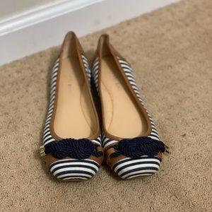 Gianni Bini Striped Flats
